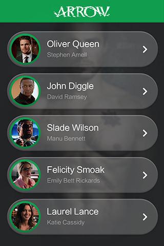 绿箭侠1-app列表模板